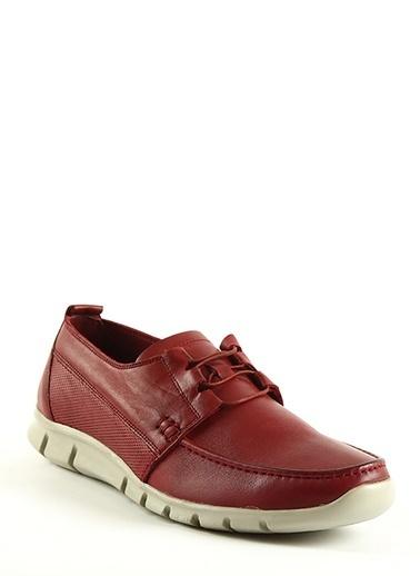 Tripy Deri Ayakkabı Bordo